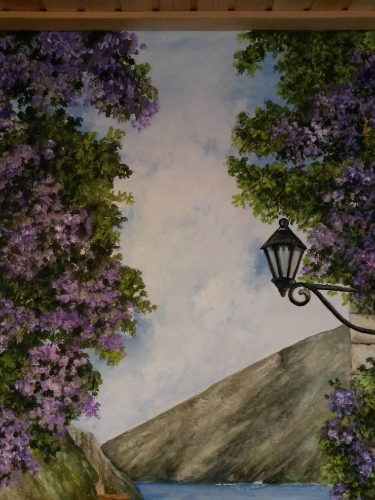 испанская улочка: Зимние сады в . Автор – Абрикос