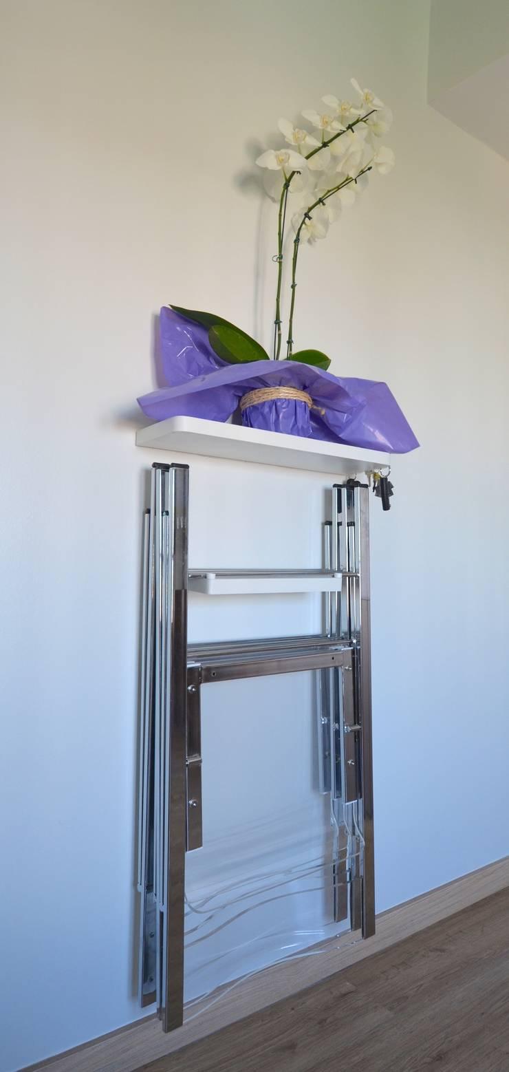 Cadeiras: Sala de jantar  por Natali de Mello - Arquitetura e Arte,
