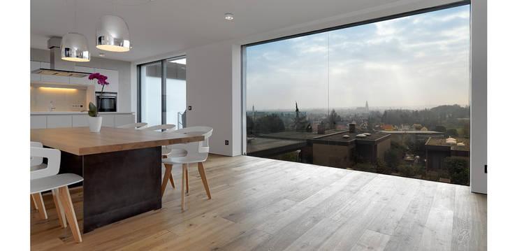 Wohnbereich Mit Ausblick: Wohnzimmer Von Bermüller + Hauner  Architekturwerkstatt