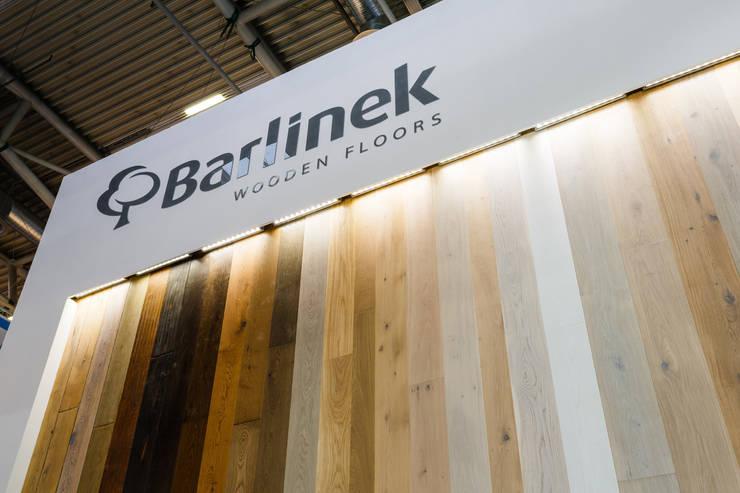 Barlinek BAU 2015 – stoisko targowe.: styl , w kategorii Miejsca na imprezy zaprojektowany przez hanczar studio