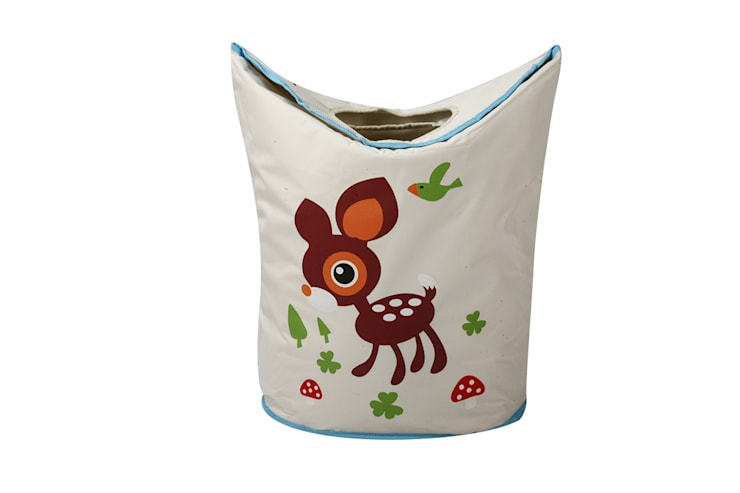 UberLyfe Foldable Bambi Laundry Bag cum Storage Box:  Nursery/kid's room by Uberlyfe