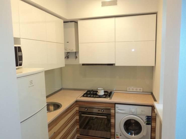 Маленькая кухня-студия:  в . Автор – KARYADESIGN architecture studio