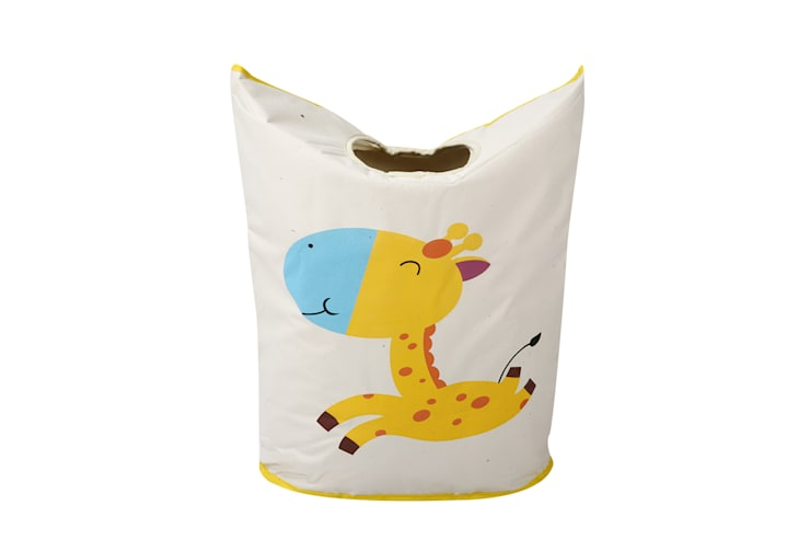 UberLyfe Foldable Hopping Giraffe Laundry Bag cum Storage Box for Kids - Large:  Nursery/kid's room by Uberlyfe