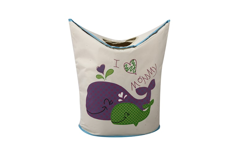 UberLyfe Foldable I Love Mommy Laundry Bag cum Storage Box for Kids - Large:  Nursery/kid's room by Uberlyfe