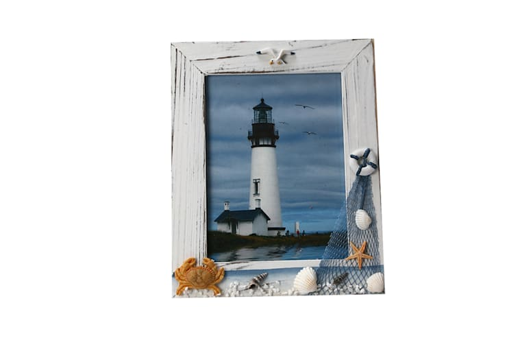 Uberlyfe Beach Theme Table Mounted Photo Frame 6 by 8 - Crab:  Bedroom by Uberlyfe