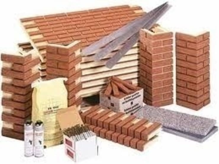 Brick panels, Brick panels corners,  Accessories:  Commercial Spaces by Fourways ML - The Brick Panels