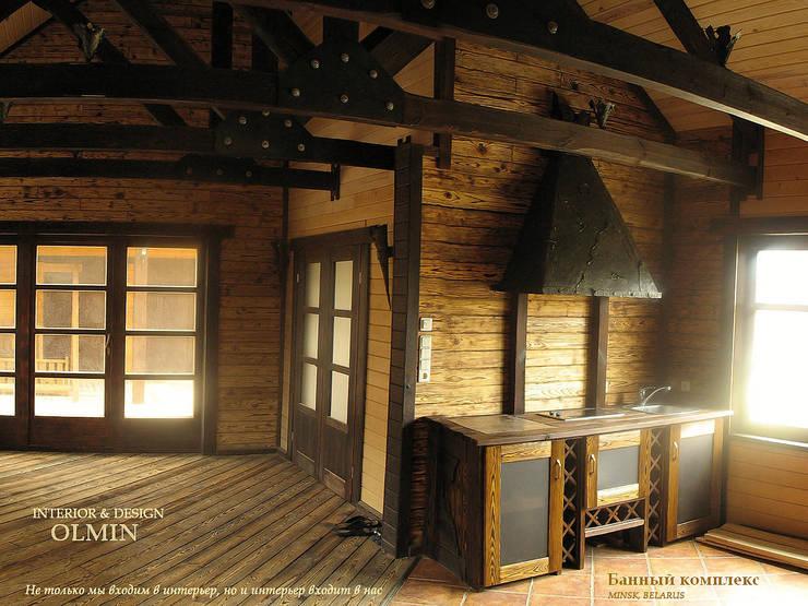 Банный комплекс – «Вечер трудного дня»: Спа в . Автор – ИП OLMIN - Архитектурная студия Олега Минакова