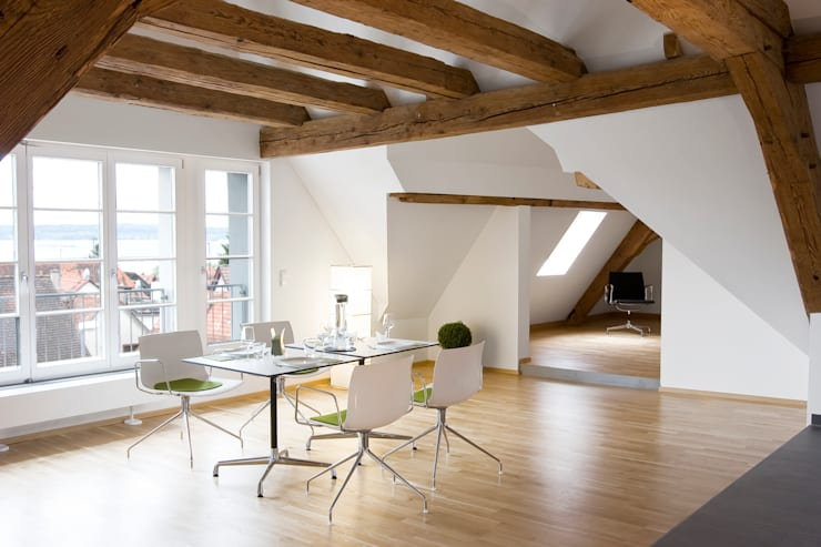 Eetkamer door w3-architekten Gerhard Lallinger