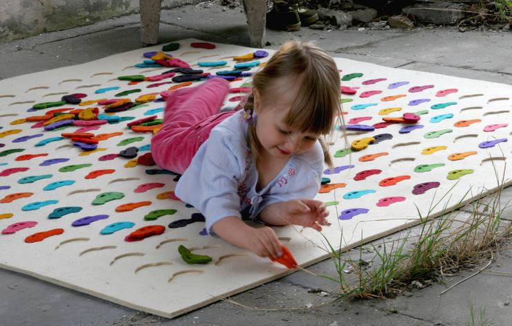 dywan Cars: styl , w kategorii Pokój dziecięcy zaprojektowany przez Agnieszka Czop