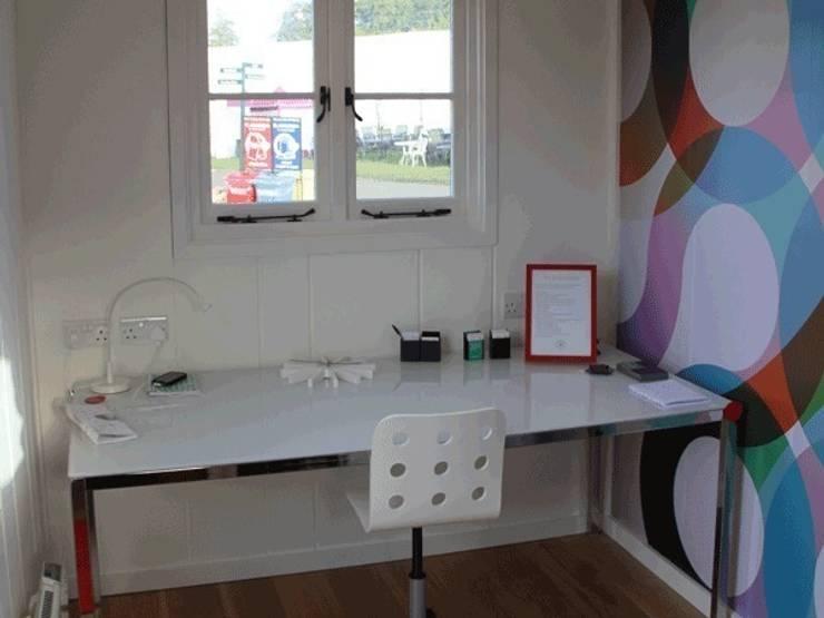 Downland Shepherd Hut:  Study/office by Downland Shepherd Huts