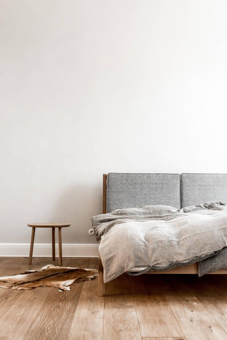 Główna sypialnia: styl , w kategorii Sypialnia zaprojektowany przez Loft Kolasiński