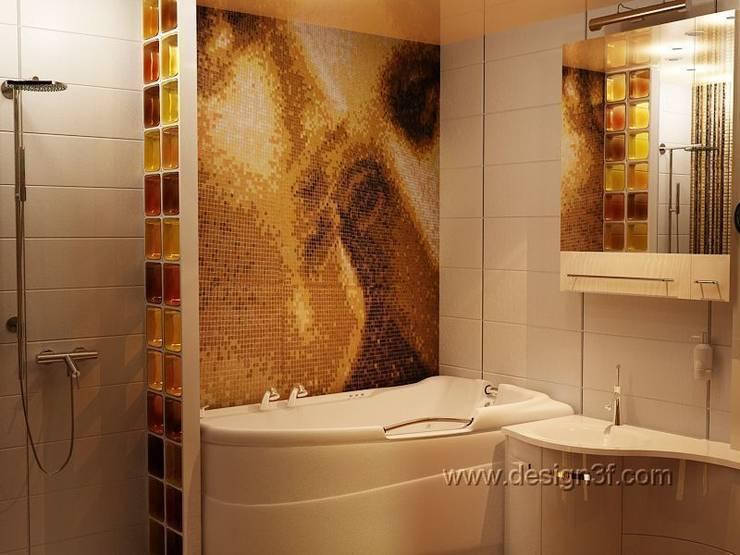студия Design3Fが手掛けた浴室