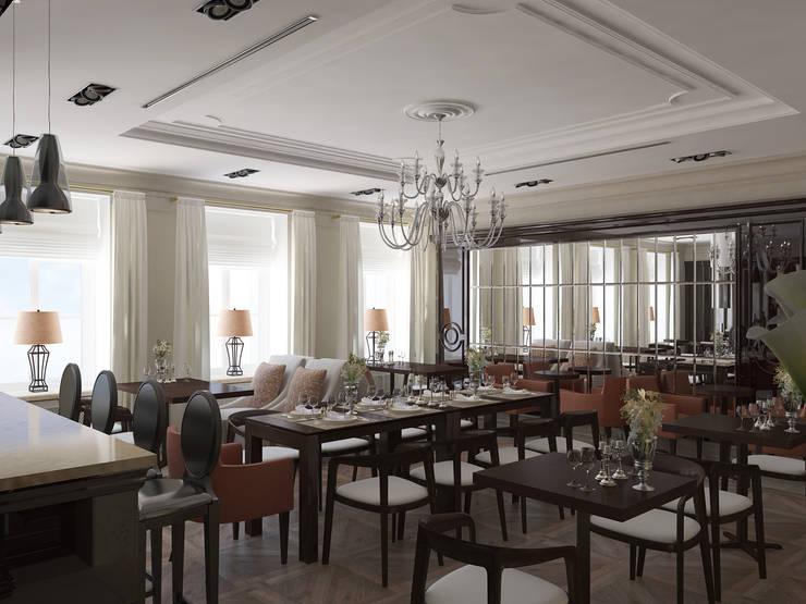 Отель на улице Чехова.Санкт-Петербург.: Столовые комнаты в . Автор – АРТ АТЕЛЬЕ, Классический