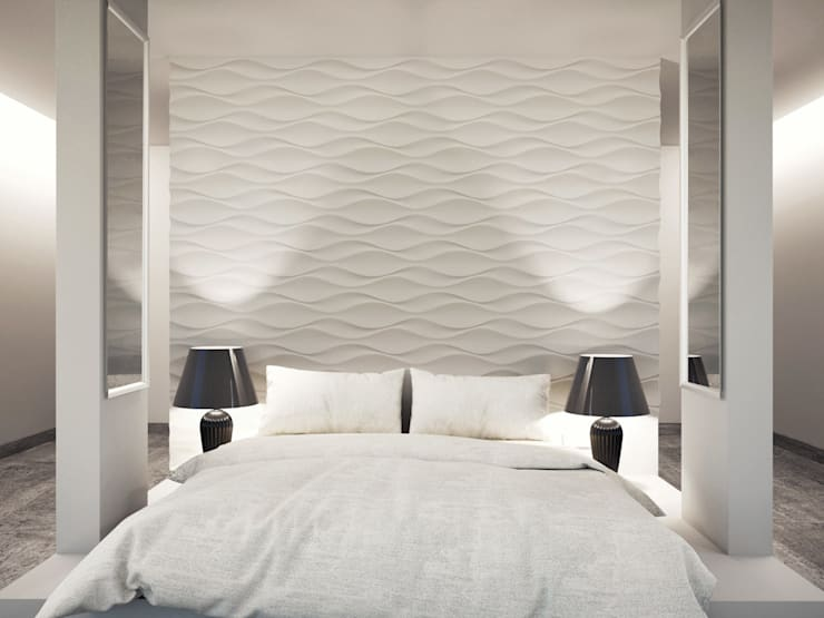 Bedroom by Loft Design System Deutschland - Wandpaneele aus Bayern