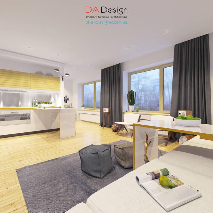 Minimal Project: Гостиная в . Автор – DA-Design