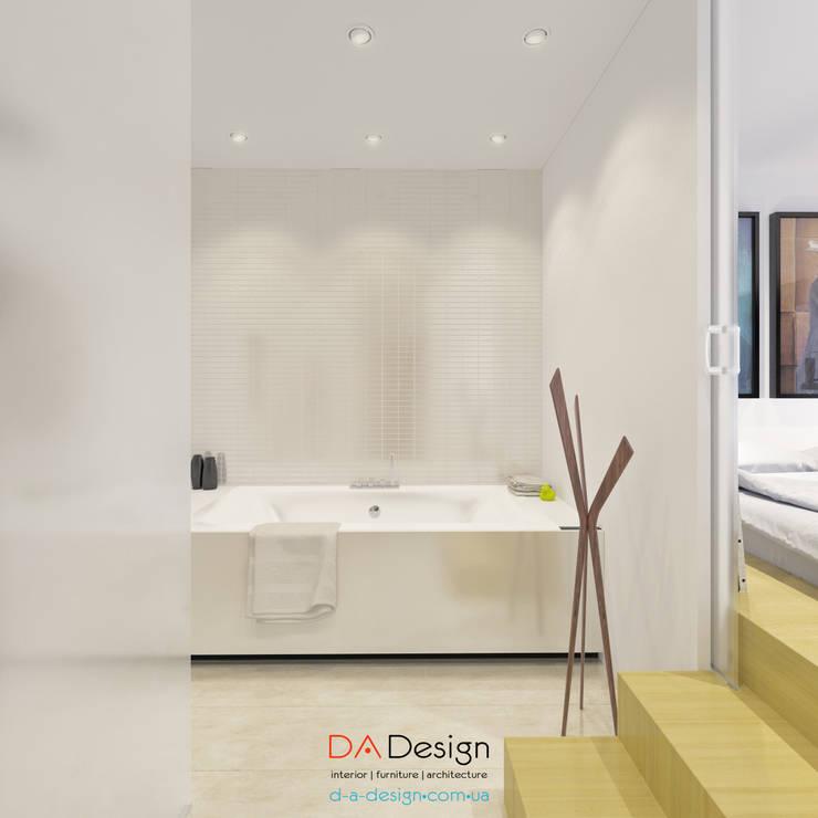 Minimal Project: Ванные комнаты в . Автор – DA-Design