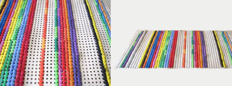 dywan STRIP: styl , w kategorii Ściany i podłogi zaprojektowany przez Agnieszka Czop