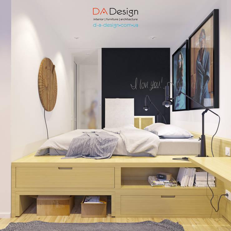 Minimal Project: Спальни в . Автор – DA-Design