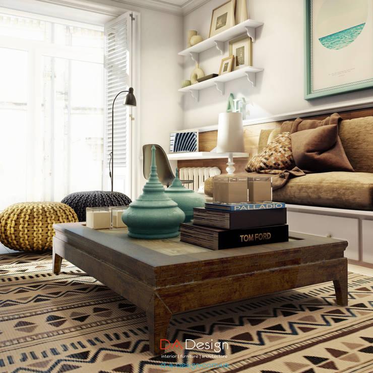 Ethnic style: Гостиная в . Автор – DA-Design