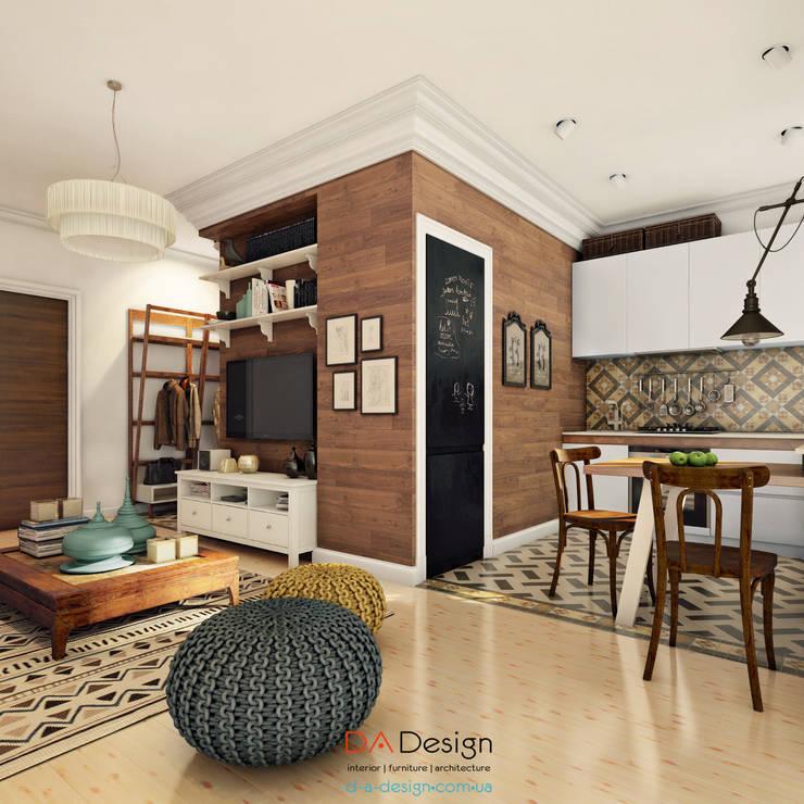 colonial Living room by DA-Design