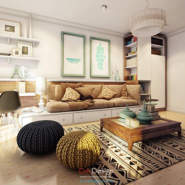 Livings de estilo  por DA-Design