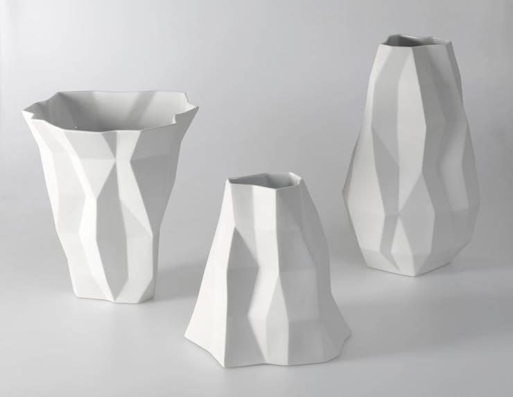 """""""Quartz"""", producent: Vista Alegre Portugal: styl , w kategorii  zaprojektowany przez Studio Bartek Mejor,Nowoczesny"""