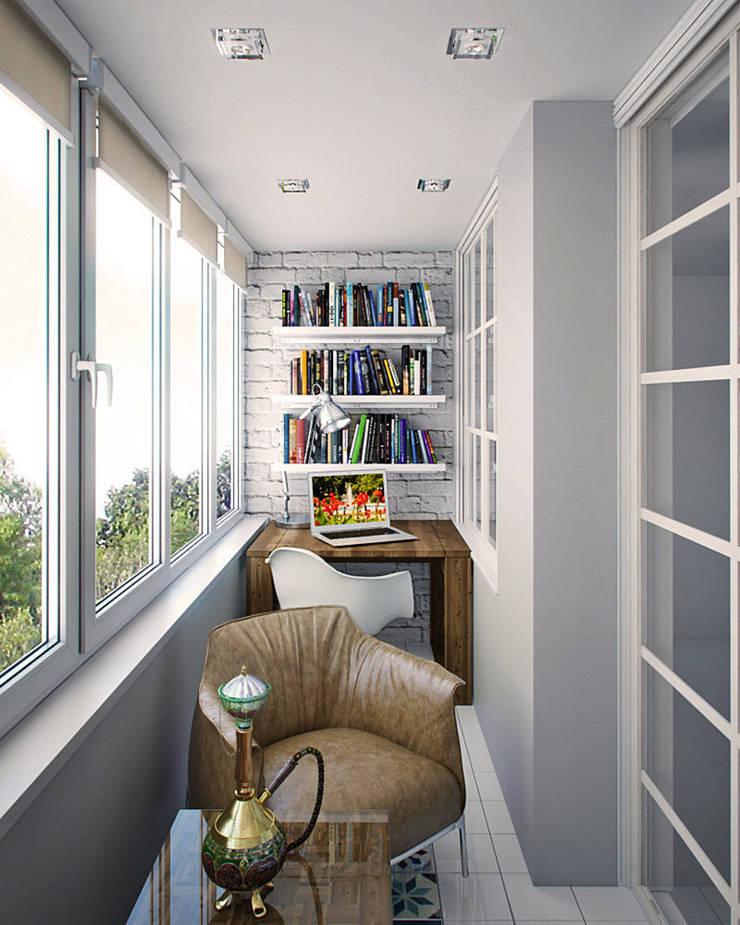 Балкон: Tерраса в . Автор – meandr.pro