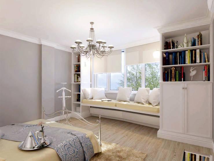 Спальня: Спальни в . Автор – meandr.pro