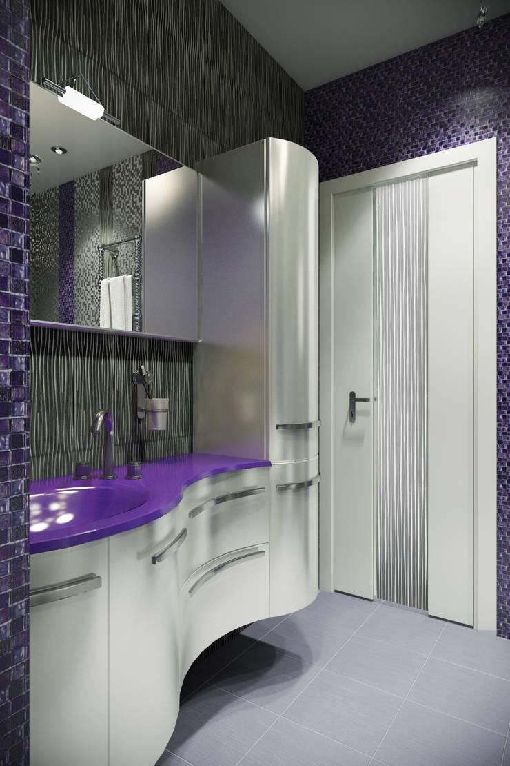 Ванная: Ванные комнаты в . Автор – meandr.pro