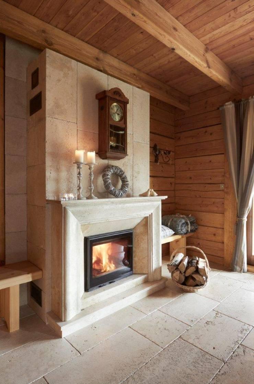 W świerkowych ścianach: styl , w kategorii Salon zaprojektowany przez Pracownia Projektowa Poco Design