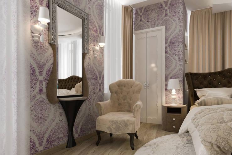 стол для макияжа : Спальная комната  в . Автор – pashchak design,