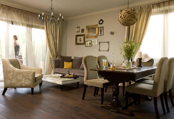 Dom Tancerzy: styl , w kategorii Salon zaprojektowany przez Pracownia Projektowa Poco Design