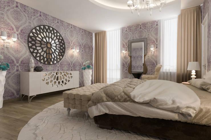 тумба с зеркалом: Спальни в . Автор – pashchak design,