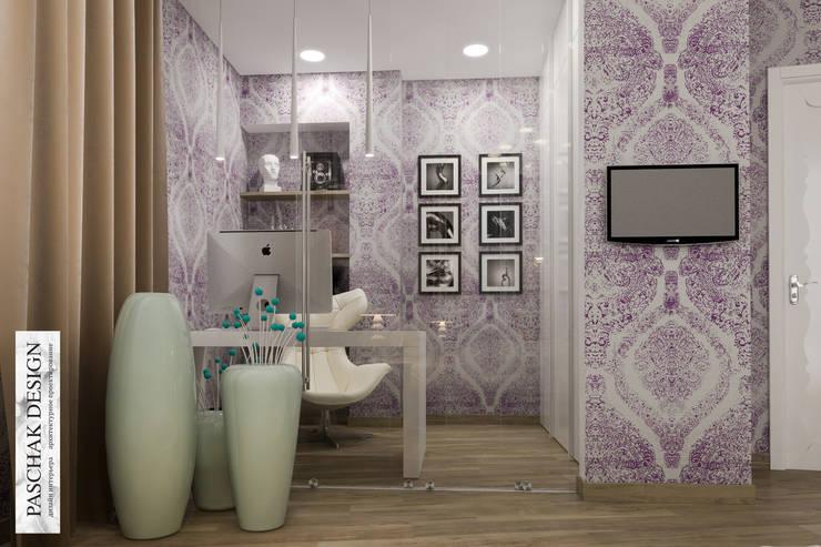 кабинет+спальня: Рабочие кабинеты в . Автор – pashchak design,