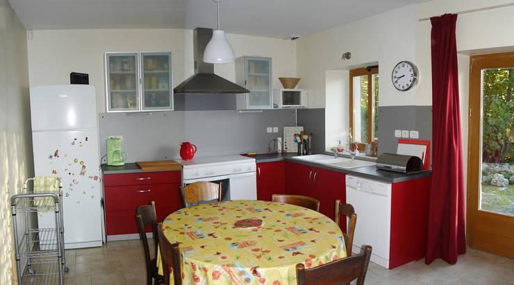 Ambiances intérieures: Cuisine de style de style Moderne par Marie GAMELON-VIALLET architecte