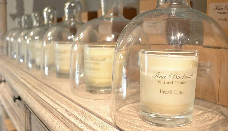 Tina Bucknall Scented Candles:  Living room by Tina Bucknall