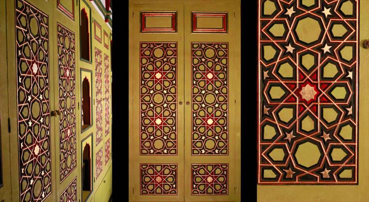 Türk Evi Kütüphanesi – Başoda:  tarz Oturma Odası