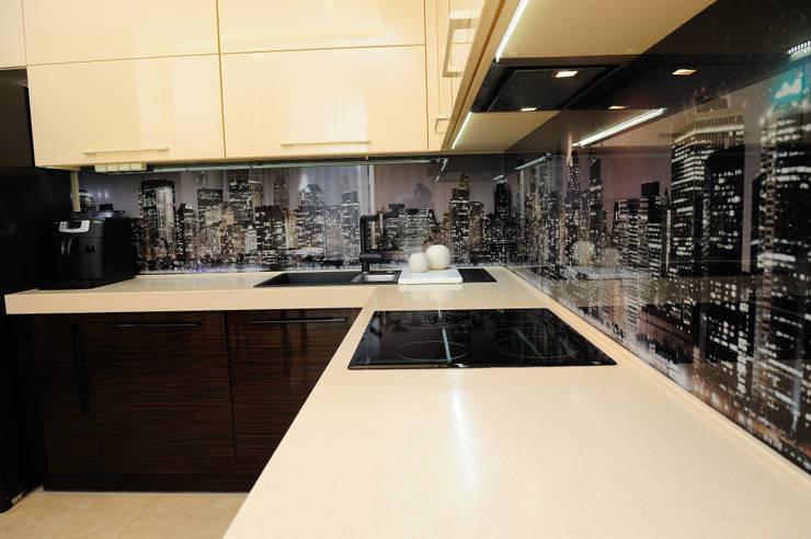 кухня зебрано:  в современный. Автор – pashchak design, Модерн