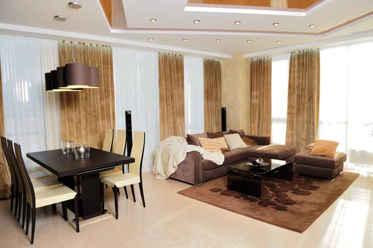 Ruang Keluarga oleh pashchak design, Minimalis