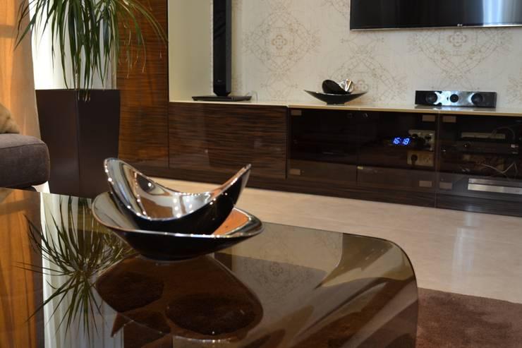 soft loft: Гостиная в . Автор – pashchak design