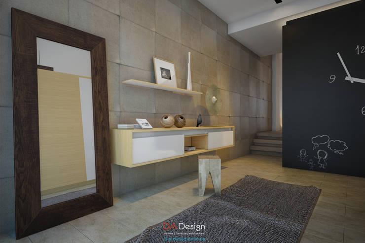 Villagio Townhouse: Коридор и прихожая в . Автор – DA-Design