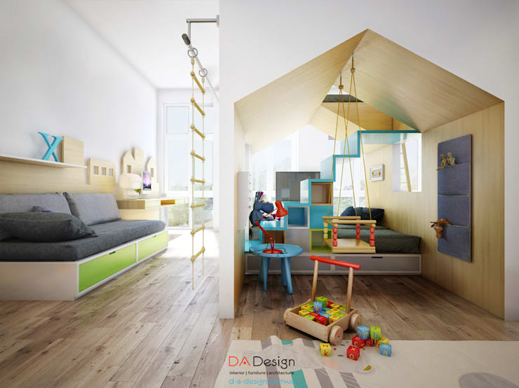 DA-Designが手掛けた子供部屋