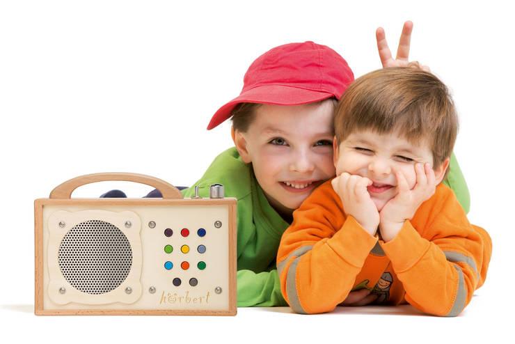 hörbert - mp3-Player für Kinder:  Kinderzimmer von WINZKI GmbH & CO. KG