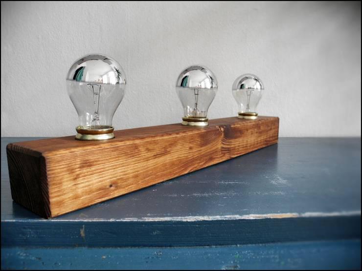 Badlampe / Wandlampe : minimalistische Badezimmer von Tom&Elsa