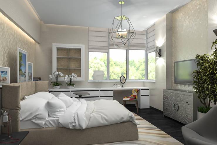 спальня: Спальни в . Автор – pashchak design