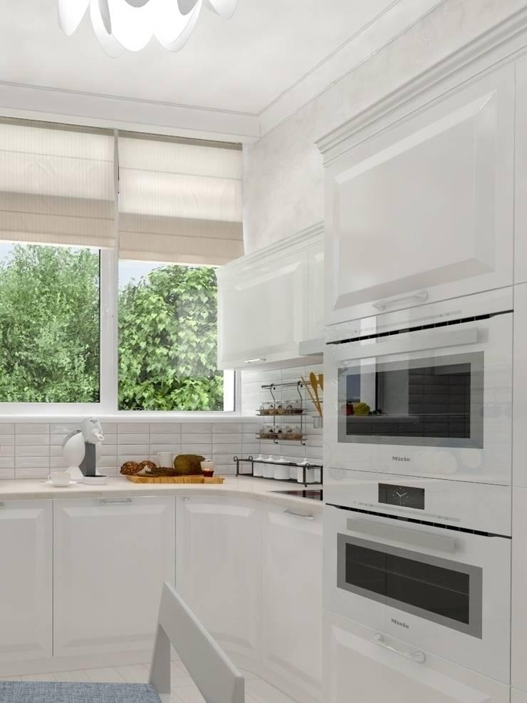 светлая кухня: Кухня в . Автор – pashchak design
