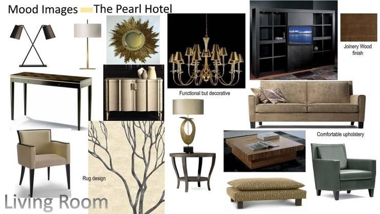 The Pearl Hotel Abu Dhabi:  Living room by trulli Design
