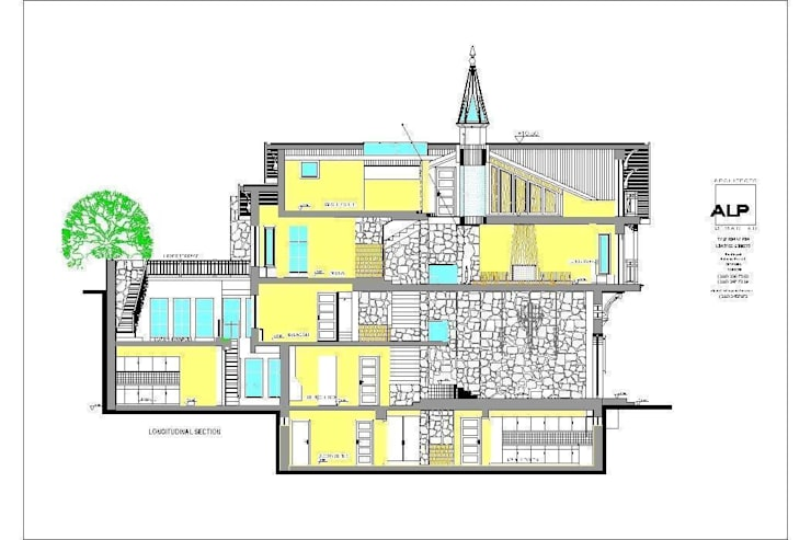 Alp Architects – Kesit Model:  tarz