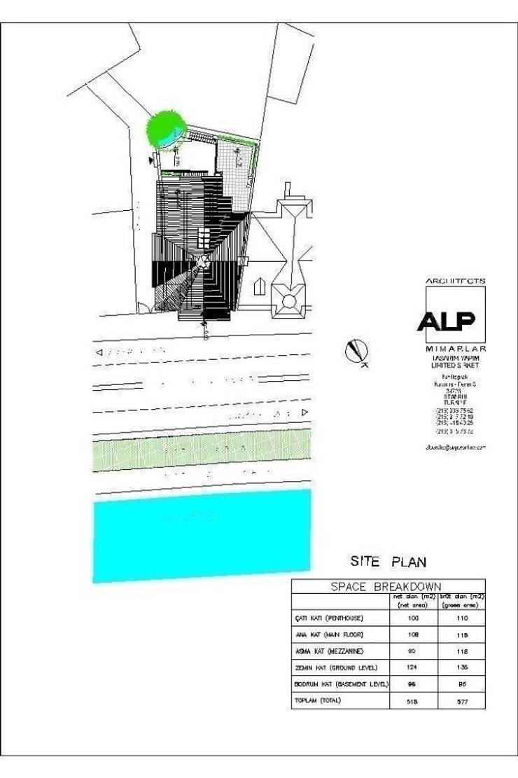 Alp Architects – Yalı Vaziyet Model:  tarz