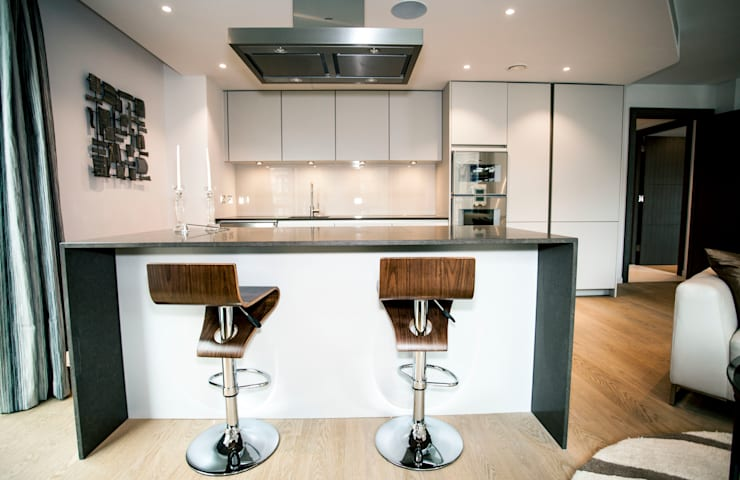Living Areas:  Kitchen by trulli Design
